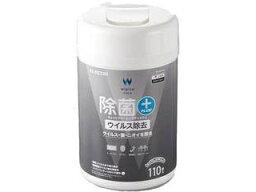 ELECOM/エレコム ウェットティッシュ/ウイルス除去/ボトル/110枚 WC-VR110N