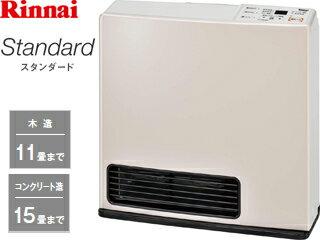 Rinnai/リンナイ RC-N355E ガスファンヒーター Standard[パステルローズ] 【プロパンガス専用】