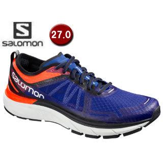 3c5b763605b10 SALOMON サロモン L40137300 SONIC RA MAX ロードランニングシューズ メンズ 27.0cm (Shocking  Orange Surf The Web White) (L40137300)