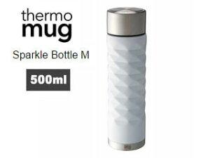 thermo mug/サーモマグ S14-50 スパークルボトル M (ホワイト)
