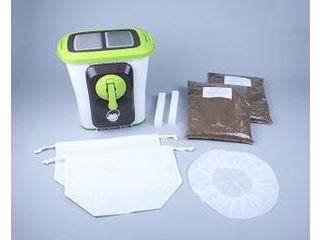 エコ・クリーン 【電気を使わずバイオの力で生ゴミを処理!】自然にカエル 基本セット(チップ材8L×2セット入り) 870315