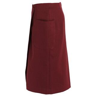 ダブルクロス切り替えしタイトスカート(ブラック/Mサイズ/I-8149)
