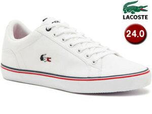 LACOSTE/ラコステ LEROND 218 1 QSP Women CAW0092 ホワイト×ホワイト サイズ38A(24.0cm)