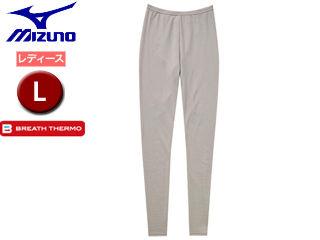 mizuno/ミズノ 【在庫限り】C2JB6841-47 ブレスサーモエブリ・プラス タイツ レディース 【L】 (グレージュ) 掲載商品は他店舗でも同時販売しております。売り切れの際はご容赦ください。