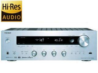 ONKYO/オンキヨー TX-8250 (シルバー) ネットワークステレオレシーバー ハイレゾ音源対応/Bluetooth対応/AirPlay対応