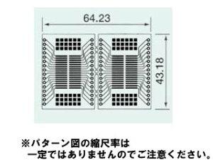 1.27mmピッチMAX.32ピン用Sunhayato/サンハヤト SSP-123 SOP IC変換基板