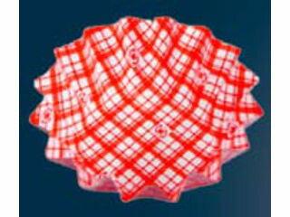 AZUMI/アヅミ産業 ココ・ケース(500枚入)丸型 ひまわり 大 赤