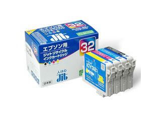 PCサプライ・消耗品, インクカートリッジ JIT IC4CL32 4 JIT-E324P jitepson