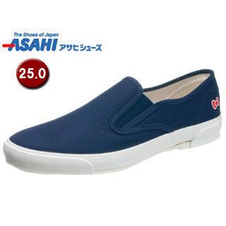 ASAHI/アサヒシューズ KC20033 ハローキティ L053 ベーシックスニーカー 【25.0cm・2E】 (ネイビー)