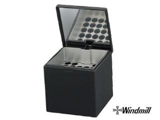 Windmill/ウインドミル 【納期11月上旬以降】6011002 ハニカムキューブ 卓上灰皿 ブラック