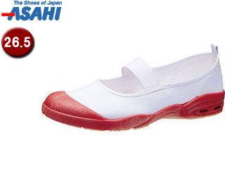 ASAHI/アサヒシューズ KD38562 アサヒドライスクール007EC【26.5cm・2E】 (レッド)