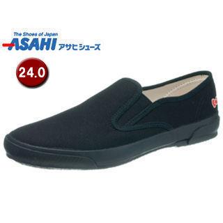 ASAHI/アサヒシューズ KC20034 ハローキティ L053 ベーシックスニーカー 【24.0cm・2E】 (ブラック)