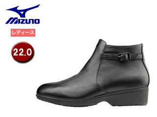 mizuno/ミズノ B1GH1662-09 セレクト655 ショートブーツ レディース 【22.0】 (ブラック)
