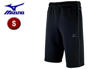 mizuno/ミズノ 32JD6126-09 クロスティック ウォームアップハーフパンツ メンズ 【S】 (ブラック×キャスチャコール)
