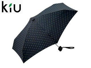 kiu/キウ Tiny umbrella 折りたたみ傘 手開き 【47cm】 (ドットスター)