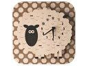 modern moose/モダン ムース PC024 Sheep 壁掛け時計 手作り ヒツジ …
