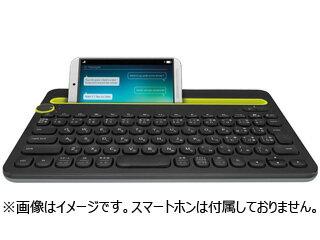 Logicool/ロジクール Bluetoothマルチデバイスキーボード K480BK ブラック
