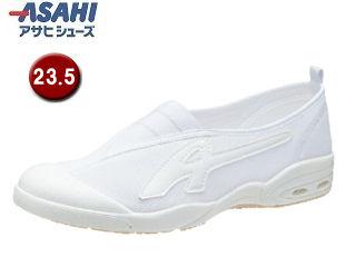 ASAHI/アサヒシューズ KD38581 アサヒドライスクール009EC【23.5cm・2E】 (ホワイト)