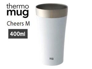 thermo mug/サーモマグ 【限定モデル】CH15-40 チアーズM (ホワイト)