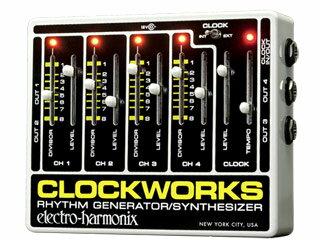ピアノ・キーボード, その他 electro harmonix Clockworks