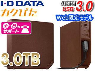 【Web限定モデル】USB3.0対応外付けハードディスク3TBEX-HD3ELBRChocolat/ショコラ