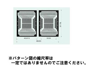 0.5mmピッチMAX.80ピン用Sunhayato/サンハヤト SSP-52 SOP IC変換基板