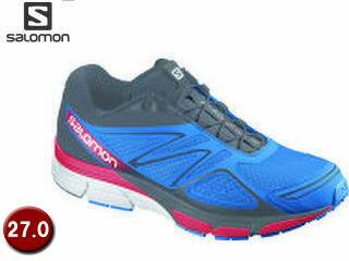 登山・トレッキング, 靴・ブーツ SALOMON L37128400-D3389 X-SCREAM 3D 27.0 (Union BlueBLACKQUICK)