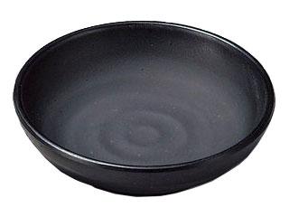 MIN/マイン メラミンウェア 黒/豆小皿 M11−354