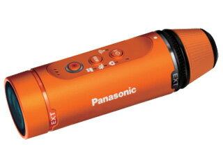 HX-A1H-D(オレンジ)ウェアラブルカメラ