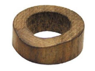 La Luz/ラ・ルース 木製 箸置き 丸型 ブラウン 104101