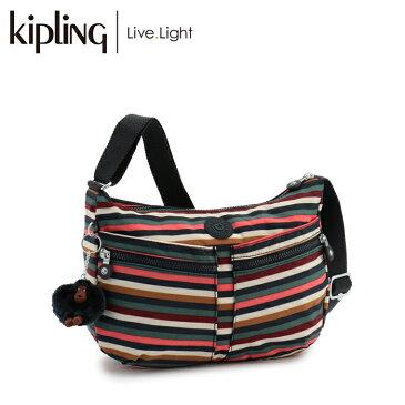 《正規品 2018年 秋冬 新作》 KIPLING/キプリング IZELLAH/イゼラー 斜めがけショルダーバッグ (Multi Stripes/マルチストライプス):ラッピング無料