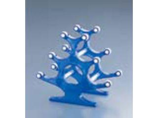 アクリルカラーワインラック5ボトル/WNBR−T ブルー