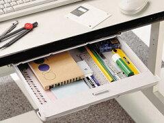 テーブルやデスクの天板の下に取り付けて小物や文具類を収納できます。伊勢藤 I-166 引出しタ...