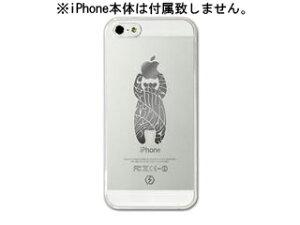 iPhoneクリアケース 5用 × bait a bear【nightsale】 Collaborn/コラボーン bait a bear iPhon...