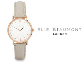 ELIE BEAUMONT/エリー ビューモント EB805L2 Oxford Small 腕時計【グレージュ】