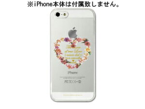 iPhoneクリアケース 5用 × Love is doing-CL【nightsale】 Collaborn/コラボーン Love is doin...