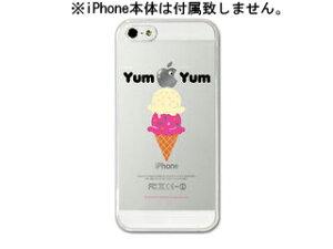 iPhoneクリアケース 4/4S用 × Yum Yum【nightsale】 Collaborn/コラボーン Yum Yum iPhone5ケ...