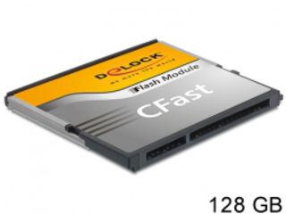 DeLOCK CFast card TypeI 128GB 54652 【納期にお時間がかかります】