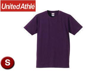 United Athle/ユナイテッドアスレ 540101C 5.0オンスTシャツ アダルトサイズ 【S】 (パープル)