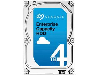 Seagate/シーゲート Enterprise Capacity 3.5インチ内蔵HDD 4TB SATA 6.0Gb/s 7200rpm 128MB 512ネイティブ ST4000NM0035