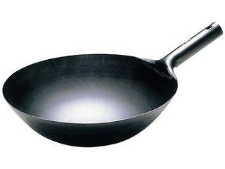 チタン 打出 中華 片手鍋 30cm:エムスタ