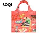LOQI/ローキー 【在庫処分】エコバッグ/トートバッグ URBAN 【Tokyo】 【LOQI Eco Bag】収納ポーチ付き。ドイツ ナイロン 軽量 トート マザーズバッグ エコバック バック ショッピングバッグ 折り畳み 旅行