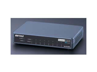 バッファロー BS-PD-2108UR PoE受電レイヤー2スイッチRoHS対応