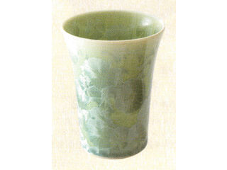 KUMAGAISOU/熊谷聡商店 花結晶(緑)フリーカップ/青・茶・白・黄