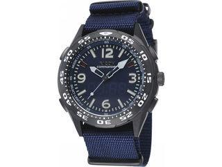 コマンダー紳士ウオッチ/ブルー/660102−82