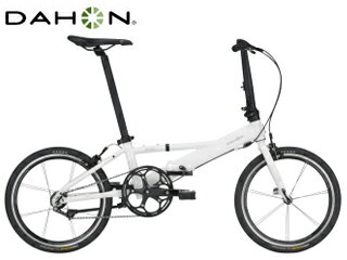 DAHON/ダホン Helios 折畳み自転車 シングルスピード 【20インチ】 (パール) メーカー直送品のため【単品購入のみ】【クレジット決済のみ】 【北海道・沖縄・離島】【日時指定】商品になります。 人気フレーム「Helios」が軽量シングルスピードで復活。