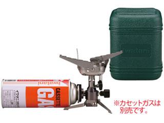 【オススメ】CB-JCBカセットガスジュニアコンパクトバーナー(シルバー)[専用ハードケース付]