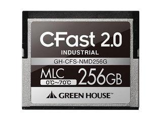 GREEN HOUSE/グリーンハウス CFast(工業用) 256GB GH-CFS-NMD256G