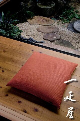 麻の葉( もみじ ) 座布団カバー 55×59cm ※銘仙判 【あす楽】