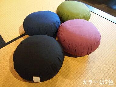 ツムギ(えび茶)曹洞宗・座禅座布団標準サイズ